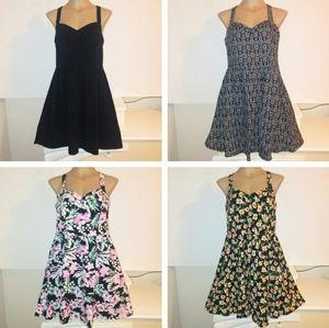 BUNDLE of Forever 21 crisscros A-line dresses